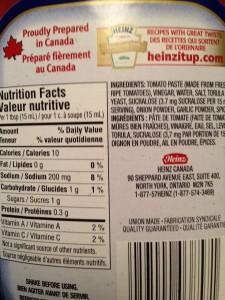 heinz-ketchup-canada-no-sugar-added-nutrition