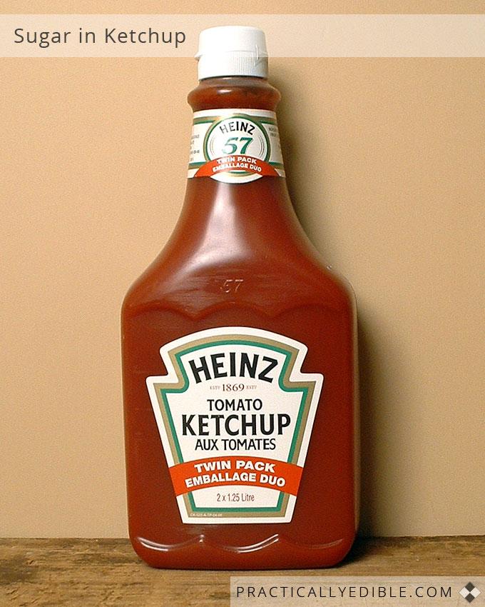 Sugar in Ketchup