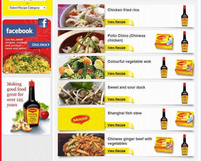Maggi Chinese Food Recipes
