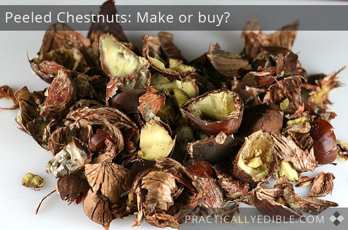 Chestnut shells