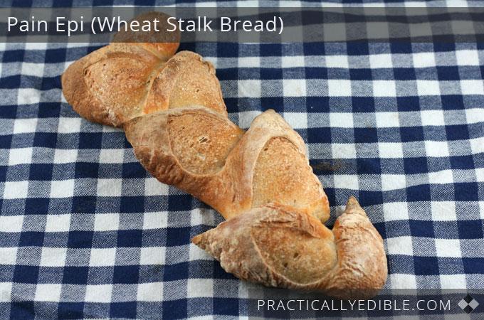 wheat-stalk-bread pain epi